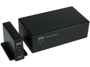 DAC audio USB sans fil en qualité HD 24 / 196 - NAD DAC2