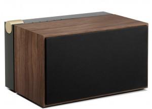 La boite concept PR/01 Noyer - enceinte puissante caisson en bois naturel