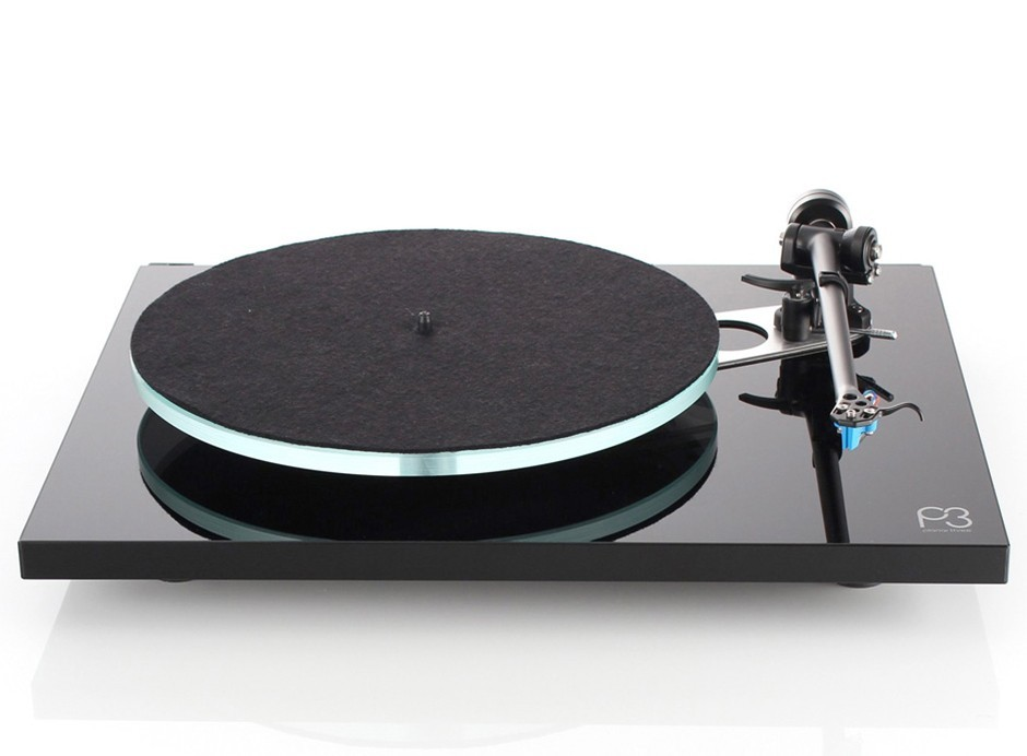 Rega Planar 3 Noir Laqué - Platine vinyle pour 33 et 45 tours