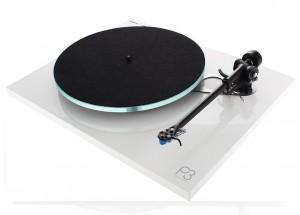 Rega Planar 3 Blanc Laqué - Platine vinyle pour 33 et 45 tours