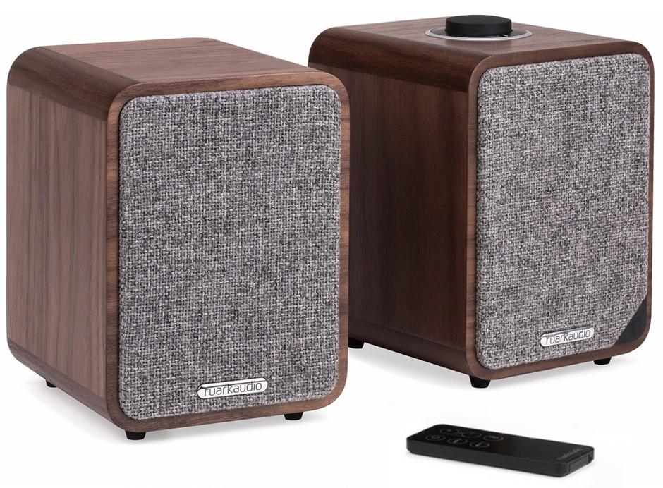 RUARK AUDIO MR1 MK2 : Paire d'enceintes amplifiées avec Bluetooth et optique TV