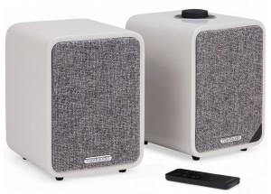 RUARK AUDIO MR1 MK2 Gris - Paire d'enceintes amplifiées avec réception sans fil Bluetooth qualité CD