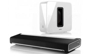 Sonos home cinéma 3.1 sans fil Blanc