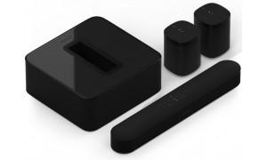 Sonos home cinéma 5.1 compact sans fil Noir