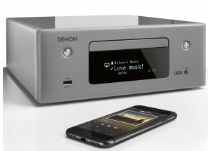 Denon Ceol RCD-N10 Gris - Ampli connecté avec lecteur réseau et CD intégrés