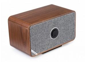 Ruark Audio MRx Bois - Enceinte HiFi à réception Bluetooth qualité CD et entrée optique pour la TV