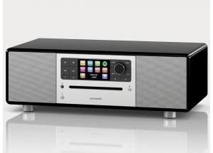 Sonoro PRESTIGE Noir - Entrées USB, mini-jack, RCA, optique et sorties casque et RCA