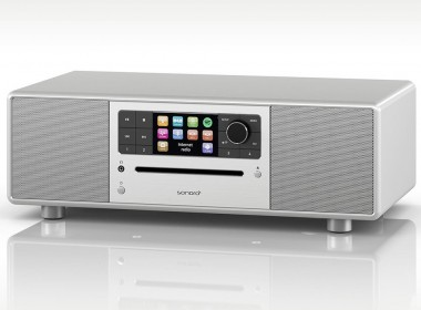 Sonoro PRESTIGE : Mini-chaîne HiFi stéréo Interet/FM/DAB avec lecteur CD et Bluetooth aptX
