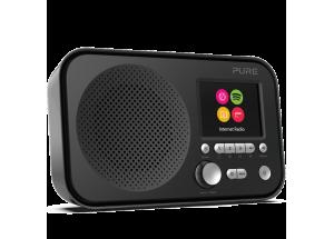 Pure Elan IR3 Noir - Poste de radio compact nomade sur piles avec tuner Internet