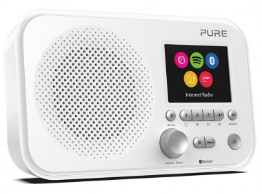 Pure Elan IR5 Bluetooth Blanc