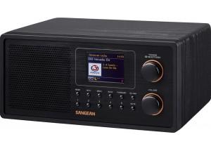 Sangean Fusion 300 (WFR-30) – Poste de radio compact avec tunerts Internet, DAB/RNT et FM