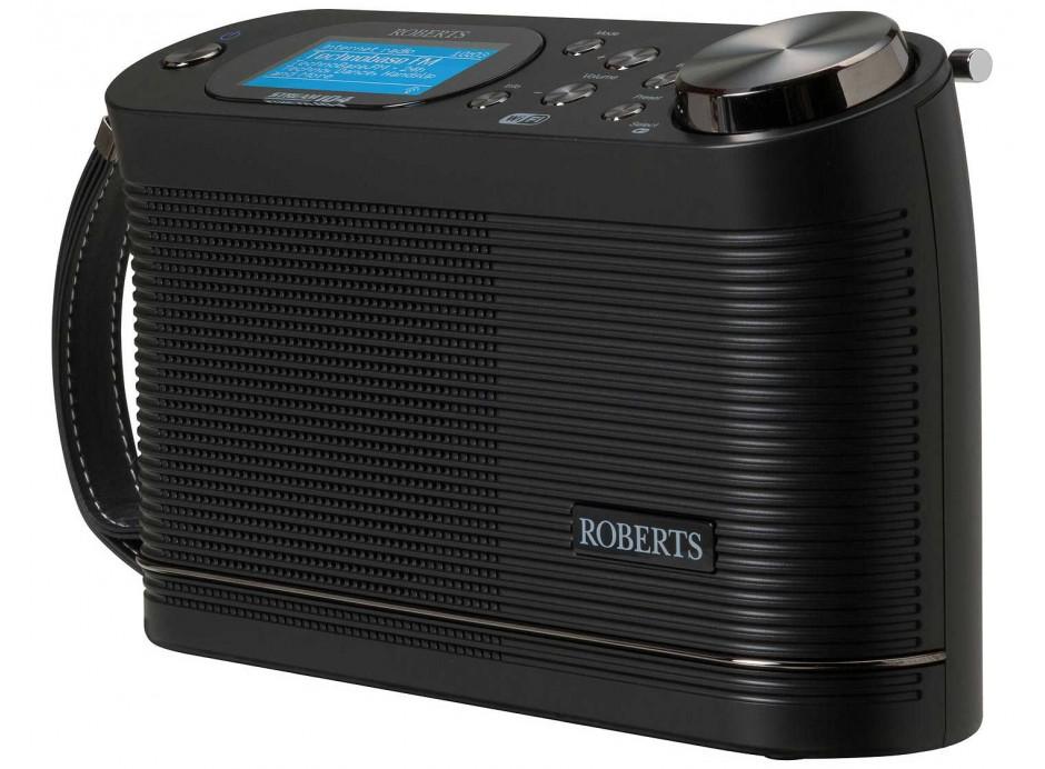 Promotion Roberts Stream 104 Radio compacte et légère triple tuner Wifi FM DAB nomade sur pile Spotify