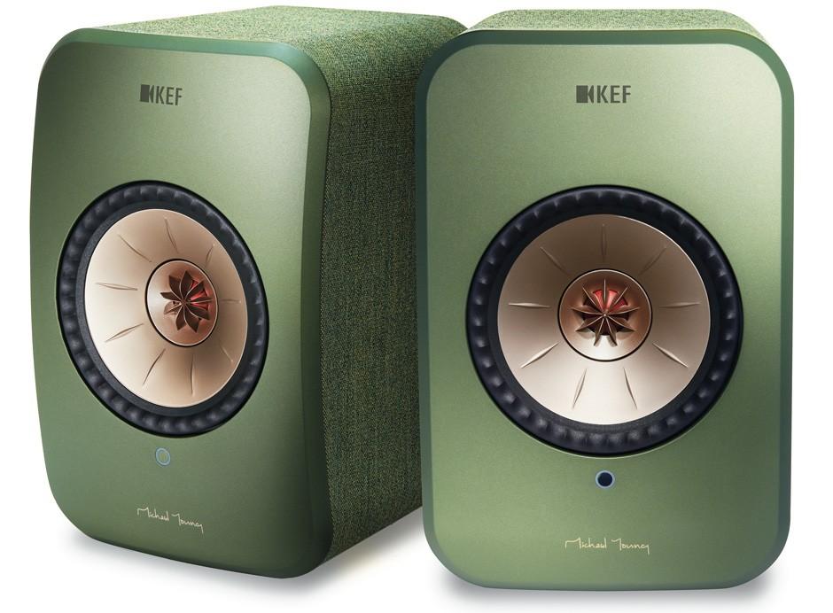KEF LSX : Enceintes 2x70 Watts WiFi, optique, Bluetooth (la paire)