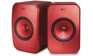 KEF LSX Wireless Rouge