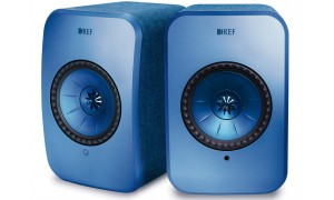 KEF LSX Wireless Bleu