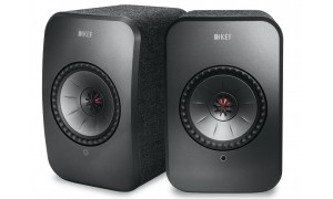 KEF LSX Wireless Noir