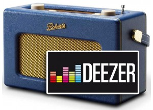 Poste radio Internet compatible Deezer