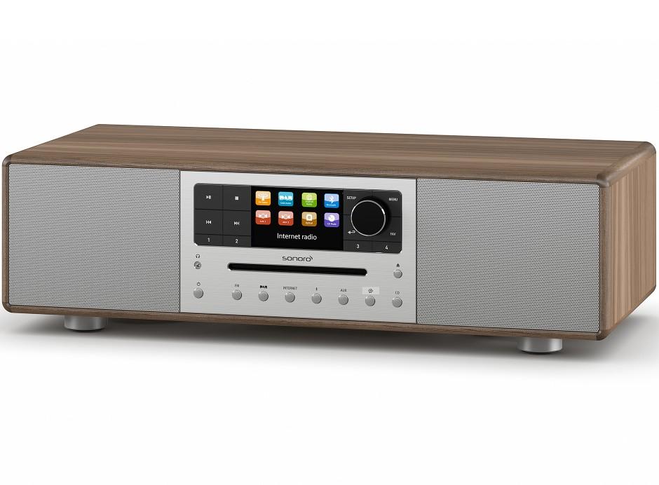 Sonoro MEISTERSTÜCK - Chaîne HiFi triple tuner radio Internet/DAB/FM avec lecteur CD et réception Bluetooth