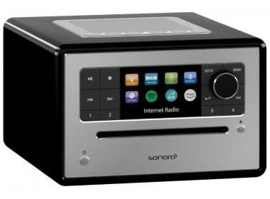 Sonoro ELITE : Poste de radio Internet, FM et DAB/RNT, réception Bluetooth et lecteur CD intégré