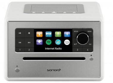 Poste de radio triple tuner, Bluetooth, lecteur CD, Deezer.