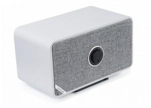 Ruark Audio MRx Gris - Enceinte HiFi à réception Bluetooth qualité CD et entrée optique pour la TV