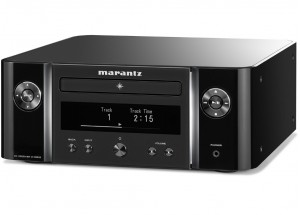 Marantz Melody X CR-612 Noir - Ampli Hifi connecté avec lecteur CD intégré bluetooth multiroom Heos aiplay 2