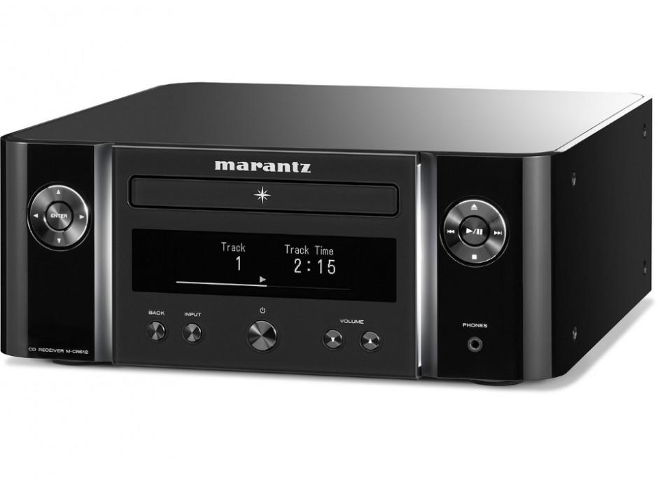 Marantz Melody X CR-612 - Ampli Hifi connecté avec lecteur CD intégré bluetooth multiroom Heos aiplay 2