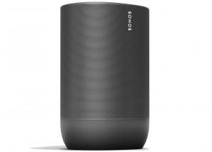 Sonos Move Noir - Enceinte connectés réseau, WiFi et Bluetooth avec batterie intégrée et diffusion multiroom