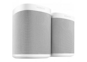 Sonos One SL- Pack Duo Blanc pour une écoute en stéréo