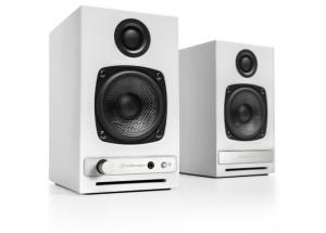 Audioengine HD3 Blanc - Enceintes actives avec amplificateur de puissance intégré 2 x 15 Watts.
