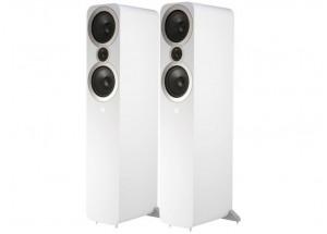 Q Acoustics 3050i Blanc (paire) - Enceintes colonne 2 voix, 2 haut-parleurs grave-médium, 1 tweeter à dôme