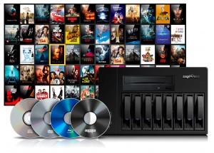 Zappiti NAS RIP 4K HDR - Créer automatiquement et sans effort une filmothèque numérique à partir de vos DVD et Blu-ray