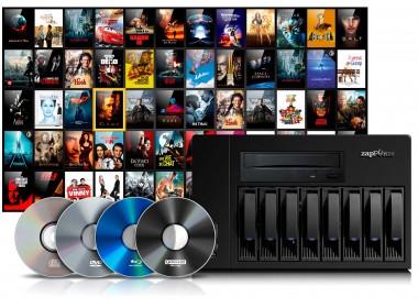 Sélection de Noël d'Eric - Serveur audio-vidéo Zappiti NAS RIP 4K HDR