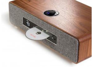 Ruark Audio R5 Noyer - Lecteur CD intégré en façade, écran OLED