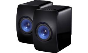 KEF LS50 Wireless Noir et Bleu