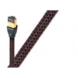 AudioQuest Forest RJ/E - câble réseau Ethernet RJ45 pour la HiFi et l'audio-vidéo - gaine stressé jusqu'à 3 mètres de longueur