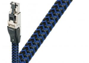 AudioQuest Vodka RJ/E - câble réseau Ethernet RJ45 pour la HiFi et l'audio-vidéo - gaine stressé jusqu'à 3 mètres de longueur