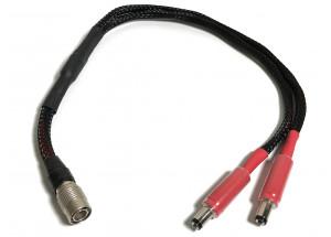SOtM DC Y Standard Cuivre OFC pour SOtM sPS-500. Longueur : 30, 50 et 100 cm
