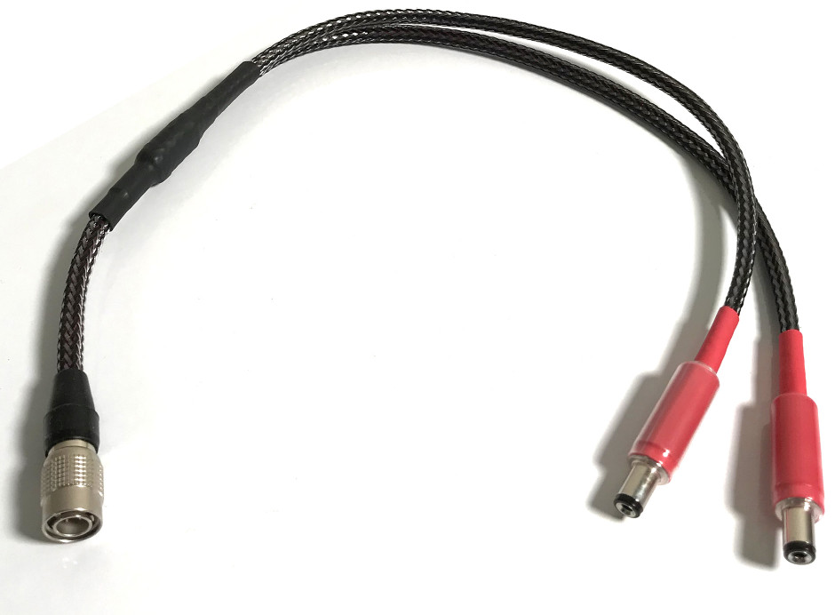 SOtM DC Y Premium pour SOtM sPS-500. Longueur : 30, 50 et 100 cm