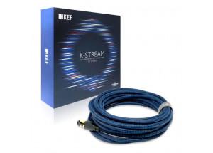KEF K-Stream Noir / Bleu - câble inter-enceinte haute performance par Chord Compagny - câble réseau RJ45