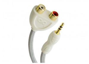 AudioQuest FLX-Mini / RCA - pour connecter votre platine vinyle, CD à votre ampli ou enceintes amplifiées