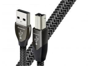 Audioquest Diamond : USB A pour la source - USB B pour le DAC