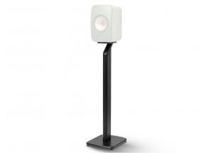 KEF LSX Pied S1 Paire Noir - Rigidité et stabilité pour une meilleure acoustique de vos KEF LSX