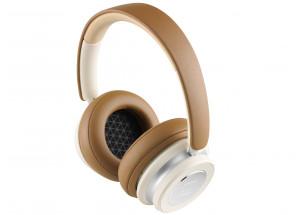 Dali IO-4 Blanc & Caramel - Casque HiFi avec réception sans fil Bluetooth HD
