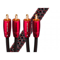 AudioQuest Golden Gate RCA : câble stéréo monogaine à écartement maximal de 76 mm