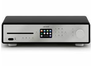 Sonoro MAESTRO Noir - Ampli HiFi connecté WiFi, Bluetooth, entrée Phono, entrée TV avec lecteur réseau et CD