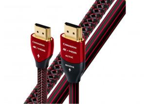 AudioQuest HDMI Cinnamon - pour source audio-vidéo 1080p, 4K HDR et 3DR - compatible ARC