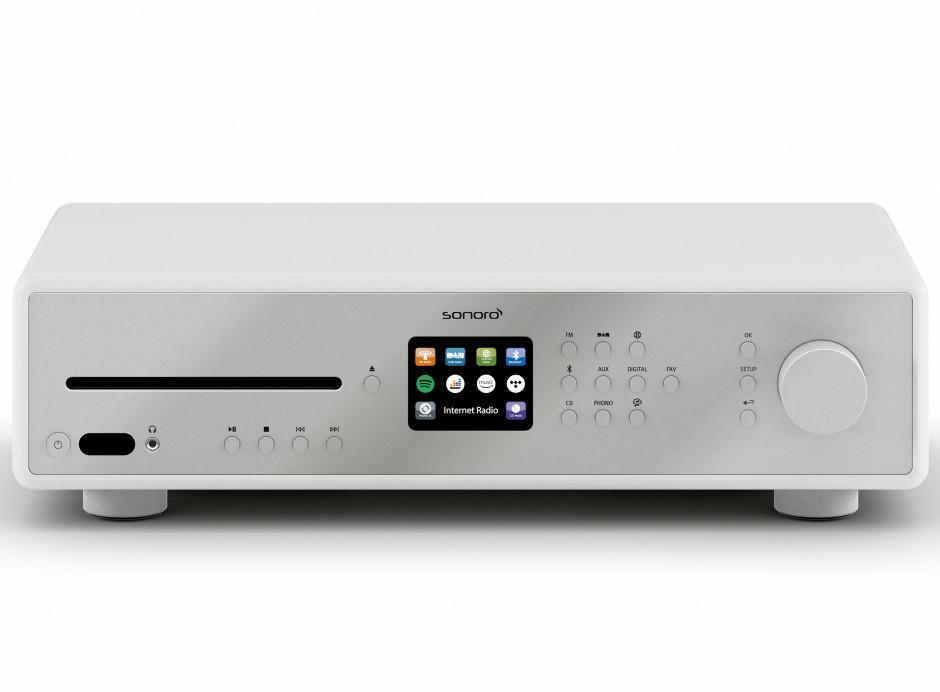 Lecteur réseau WiFi Sonoro MAESTRO : Bluetooth, lecteur CD, Phono