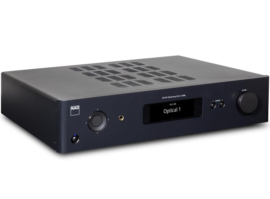 NAD C658 - Lecteur réseau HiFi connecté avec lecteur BluOS