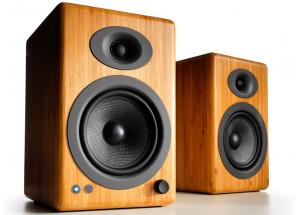 Audioengine A5+ Wireless Bambou - enceintes actives 2 x 50 Watts et réception Bluetooth